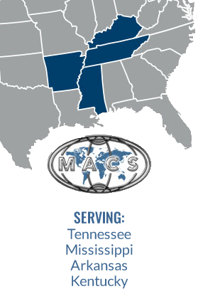 Serving: Tennessee, Mississippi, Arkansas, Kentucky.